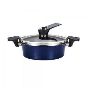 Вакуумная кастрюля для индукционной плиты Happycall Sauce Pot IH 2.9л низкая