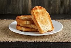 Тосты - жареный хлеб - в аэрофритюрнице Rawmid Modern RMA-12