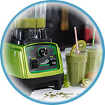 Блендер для зеленых коктейлей и смузи Rawmid Dream Greenery 2 BDG-03