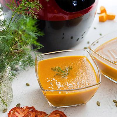 Крем суп пюре в блендере суповарке с подогревом Dream Future 2