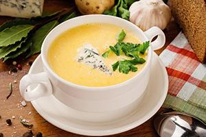 Крем-суп в блендере с колпаком RAWMID RPB-01