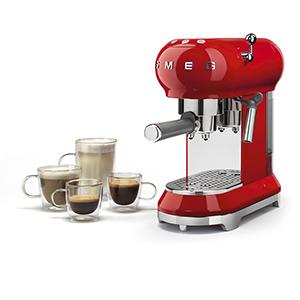 Кофемашина для молотого кофе SMEG