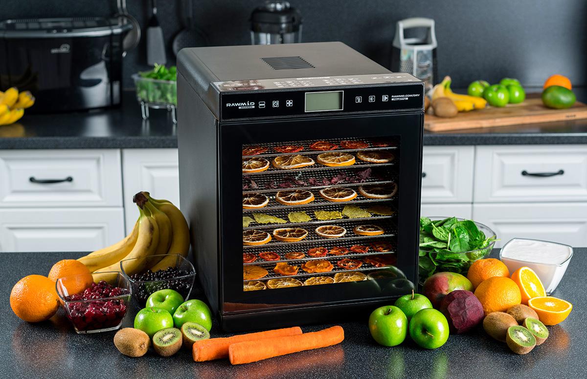 Дегидратор для овощей фруктов ягод грибов RAWMID Modern RMD-10