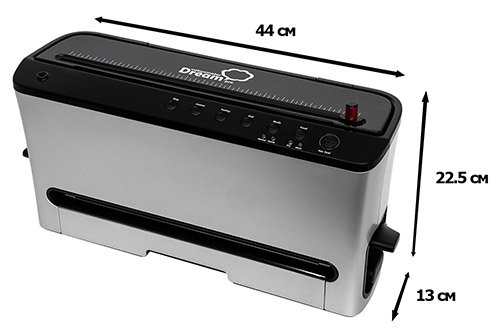 Вакууматор промышленный Dream Pro бытовой вакуумный упаковщик для продуктов