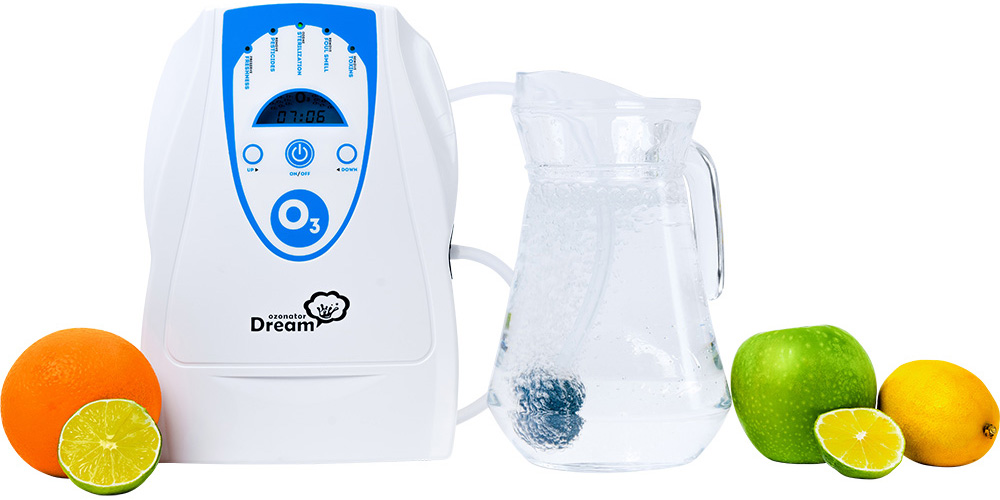 Бытовой озонатор воды воздуха продуктов для дома и квартиры Rawmid Dream Ozonator OD-03